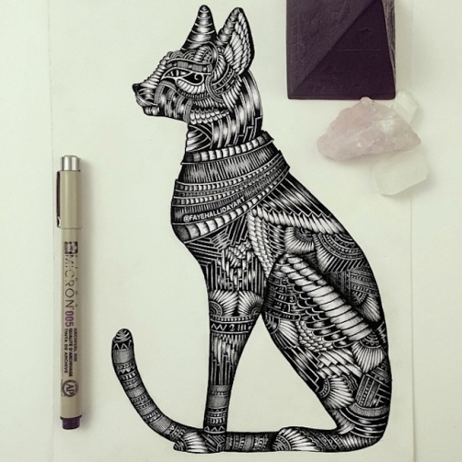 amazing_detailed_animal_doodles_created_by_artist_faye_halliday_2015_07