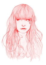 hair-and-beauty-miss-led-illustration-ws
