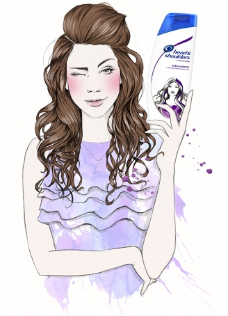 miss-led-head-and-shoulders-illustration-watercolour-fashion