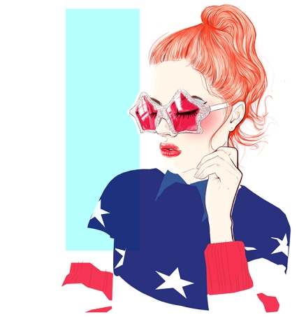 miss-led-rebel-beauty-hair-illustration-ws