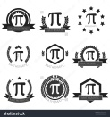 stock-vector-mathematic-pi-logo-set-335380436