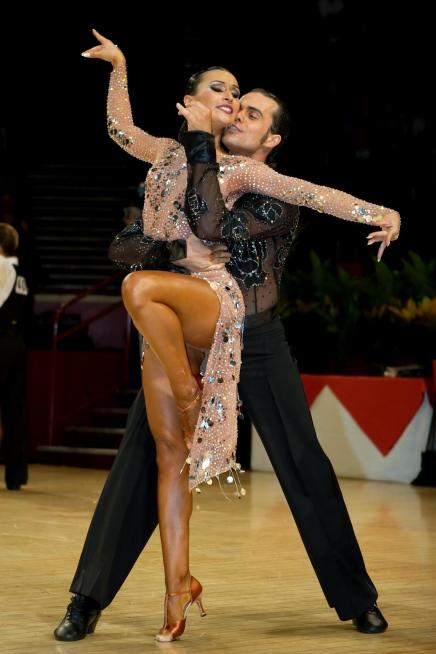 World Cup professional Latin dance champions, Delyan Terziev and Boriana Deltcheva, will bring their new and exciting show to the Grand Ballroom of the Holy Trinity Greek Church Community Center, 4070 Park Ave., Bridgeport Saturday evening, Jan. 28, when the Premier Ballroom Dance Company of CT hosts its first monthly event of 2012. The 3-time National Latin champions of Bulgaria are also World Showdance finalists. Showtime is 9:30 p.m. General dancing takes place from 7 p.m. to midnight with a dance lesson at 8 p.m. Music will be provided by PVS Sound. Singles and couples welcome. .Complimentary snacks. $17.Reservations suggested, call 203-374-7308. Contributed photo